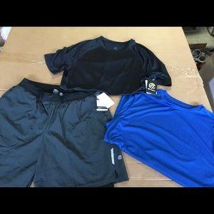 NWT! Men's Champions Running Shorts/Shirts Bundle